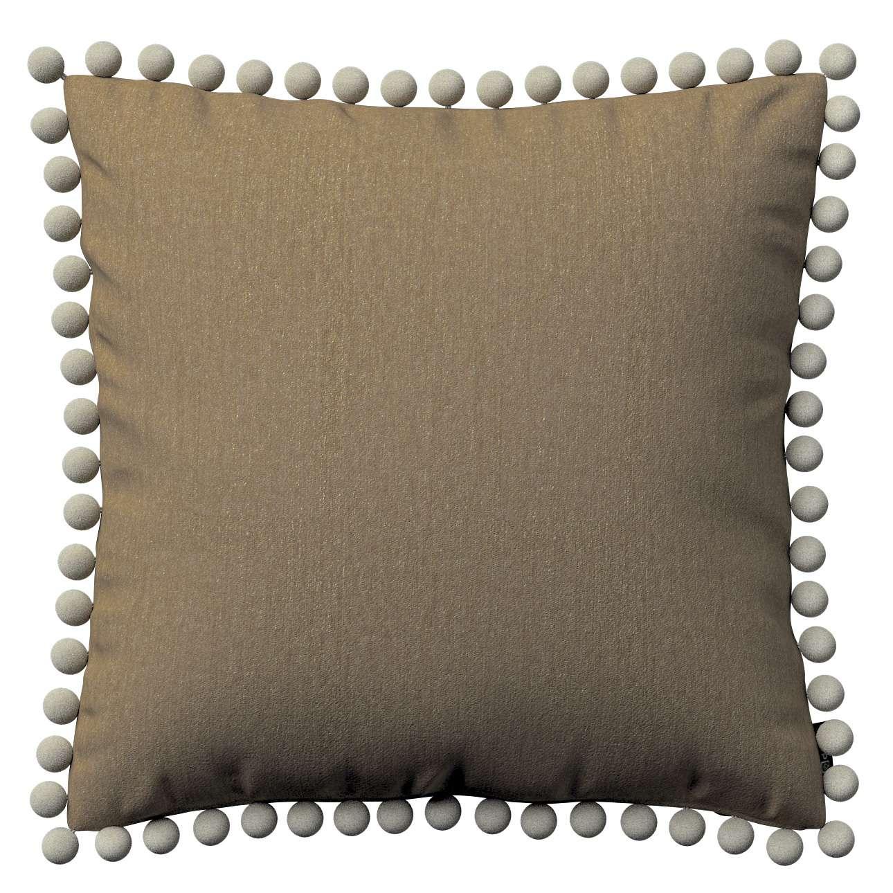 Viera s brmbolcami V kolekcii Chenille, tkanina: 702-21