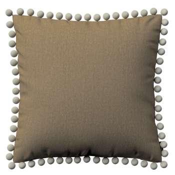 Wera dekoratyvinės pagalvėlės užvalkalas su žaismingais kraštais kolekcijoje Chenille, audinys: 702-21
