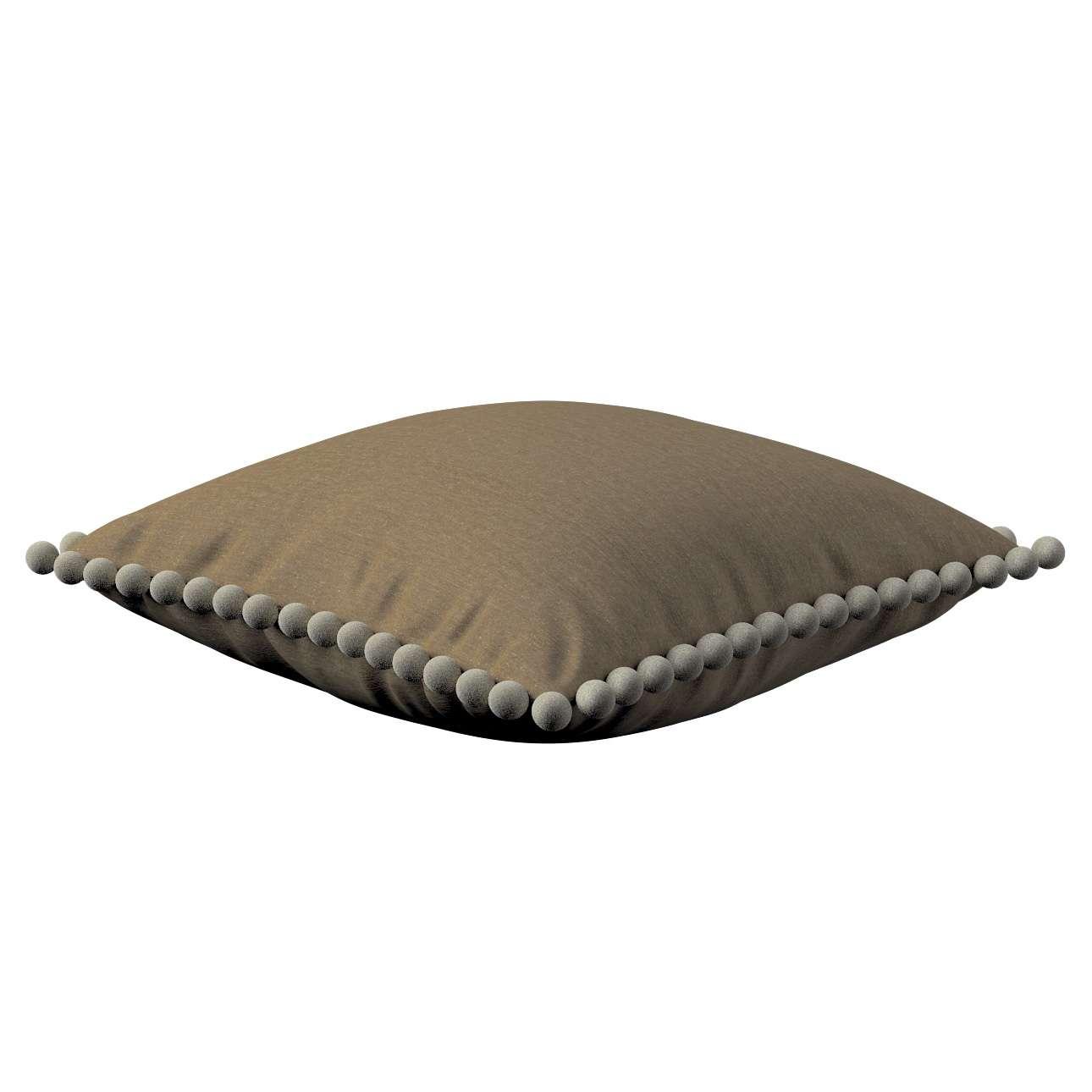 Wera dekoratyvinės pagalvėlės su žaismingais kraštais 45 x 45 cm kolekcijoje Chenille, audinys: 702-21