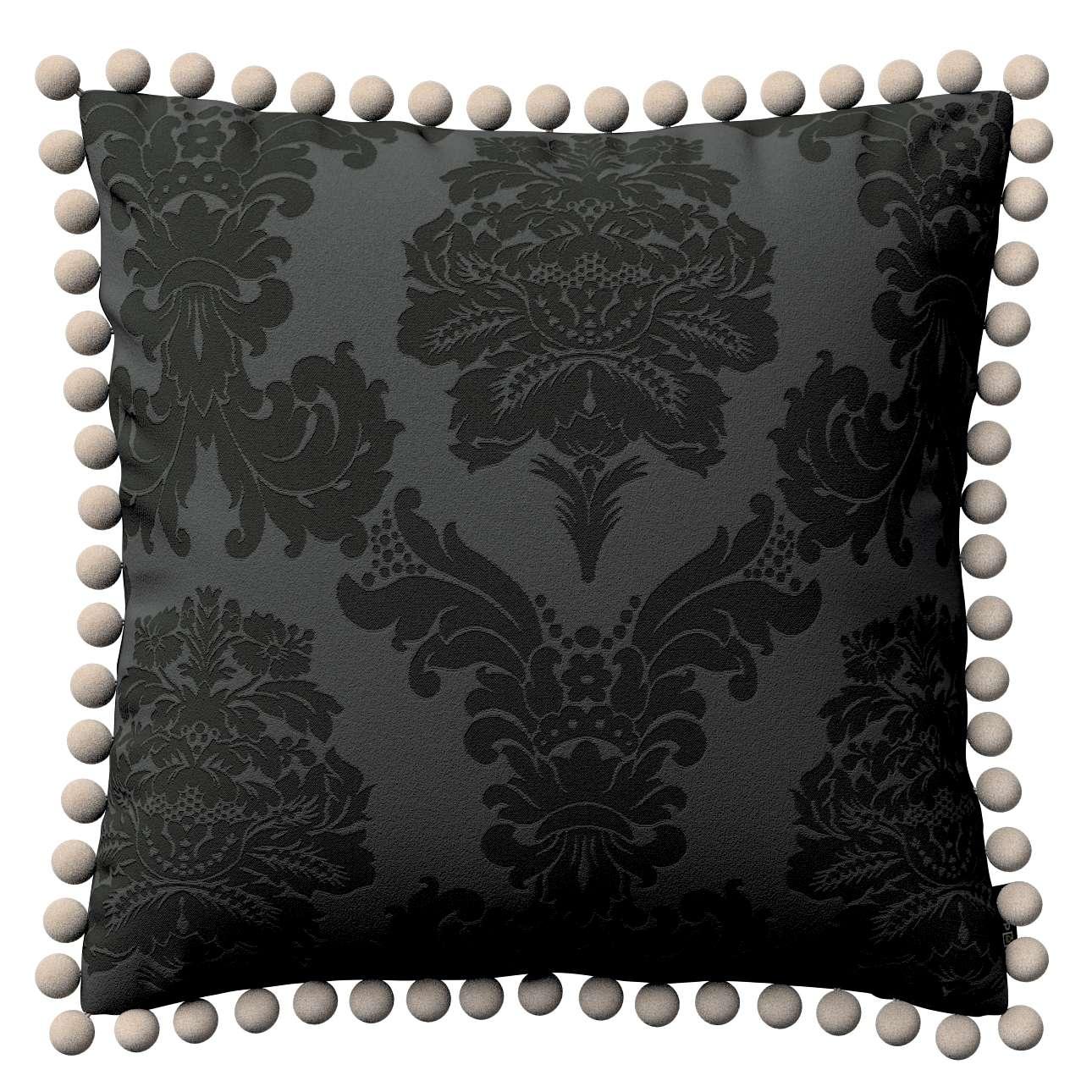 Poszewka Wera na poduszkę 45 x 45 cm w kolekcji Damasco, tkanina: 613-32