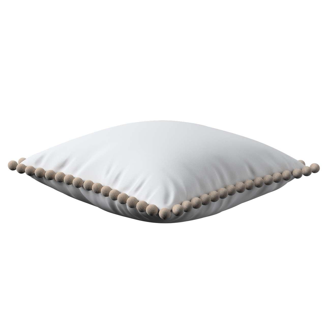 Wera dekoratyvinės pagalvėlės užvalkalas su žaismingais kraštais 45 x 45 cm kolekcijoje Loneta , audinys: 133-02