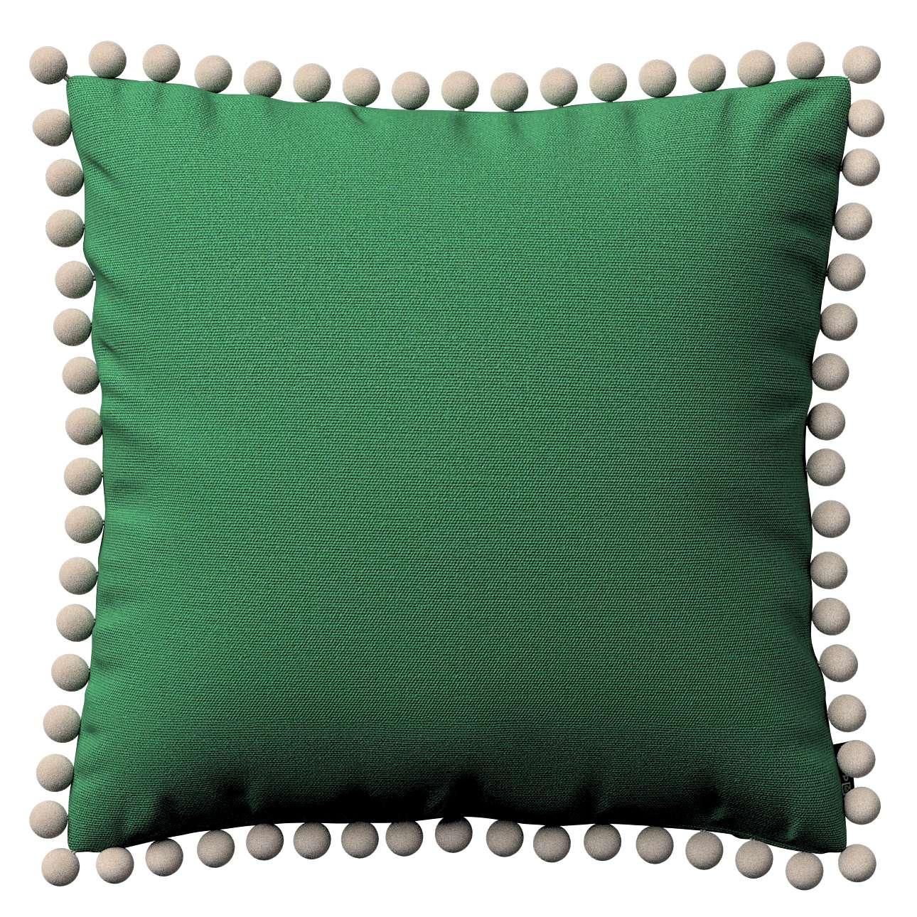 Wera dekoratyvinės pagalvėlės užvalkalas su žaismingais kraštais 45 x 45 cm kolekcijoje Loneta , audinys: 133-18