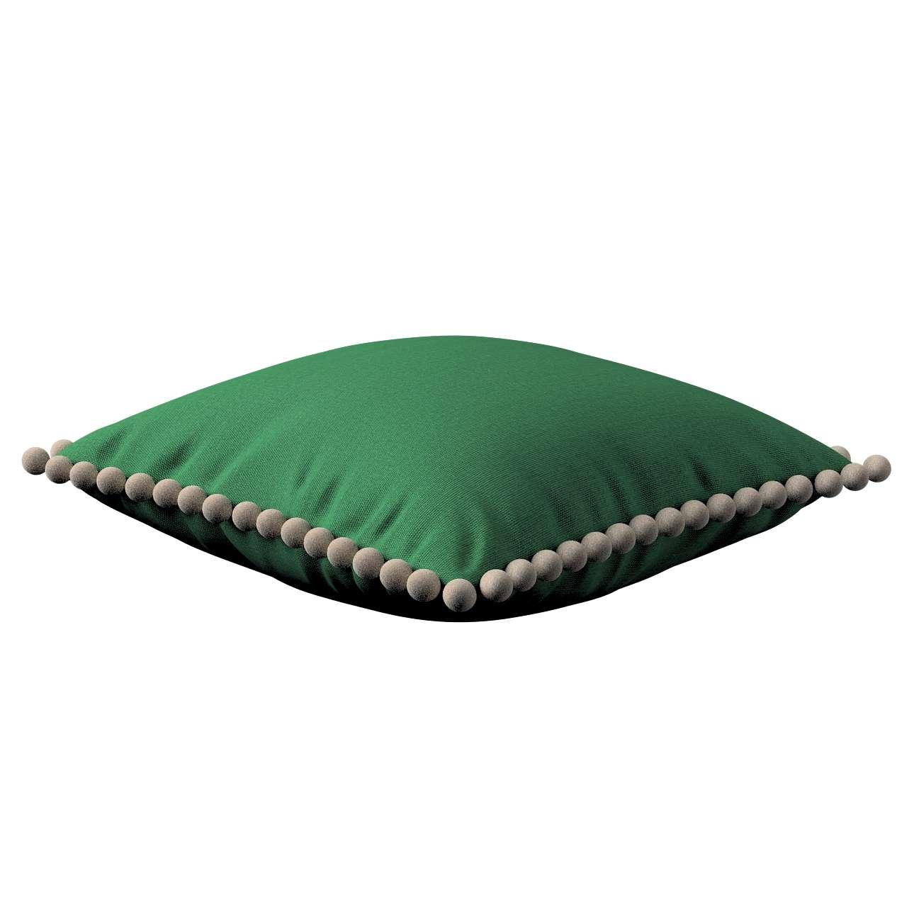 Wera dekoratyvinės pagalvėlės užvalkalas su žaismingais kraštais kolekcijoje Loneta , audinys: 133-18