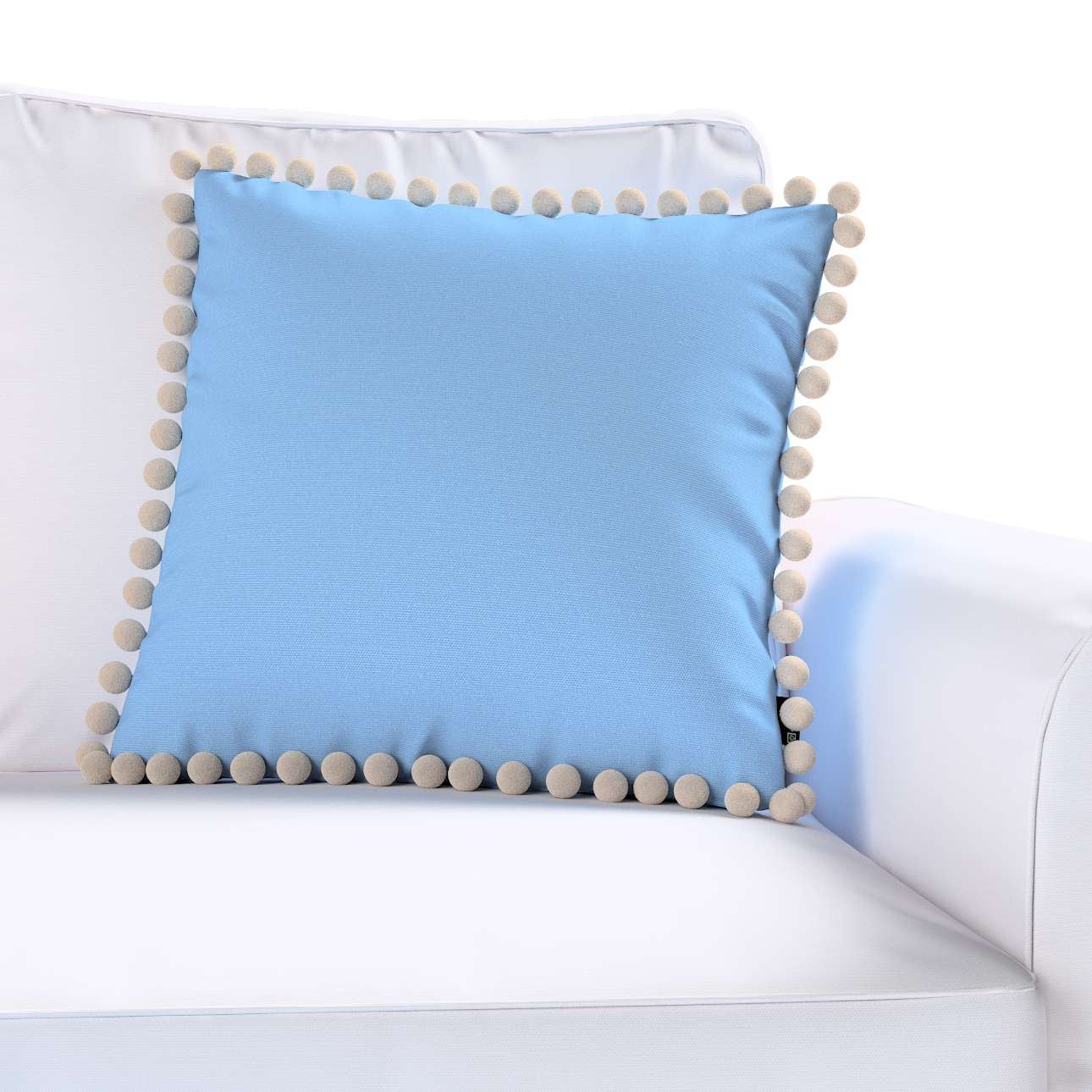 Poszewka Wera na poduszkę 45 x 45 cm w kolekcji Loneta, tkanina: 133-21