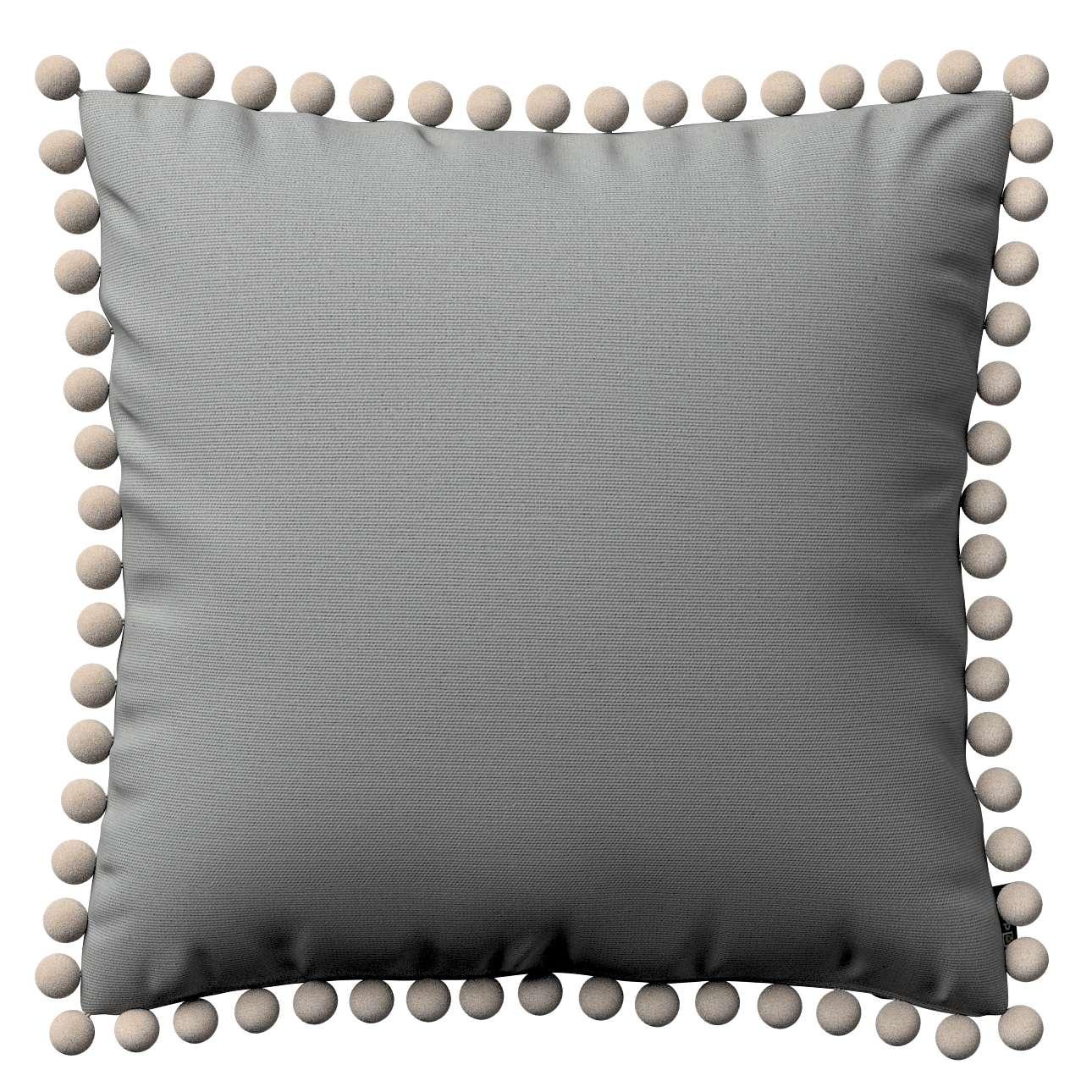 Wera dekoratyvinės pagalvėlės užvalkalas su žaismingais kraštais 45 x 45 cm kolekcijoje Loneta , audinys: 133-24