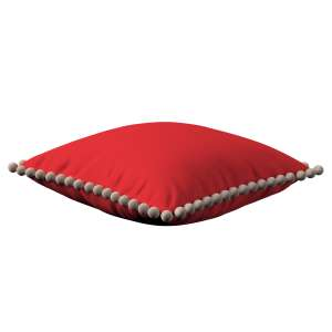 Wera dekoratyvinės pagalvėlės užvalkalas su žaismingais kraštais 45 x 45 cm kolekcijoje Loneta , audinys: 133-43