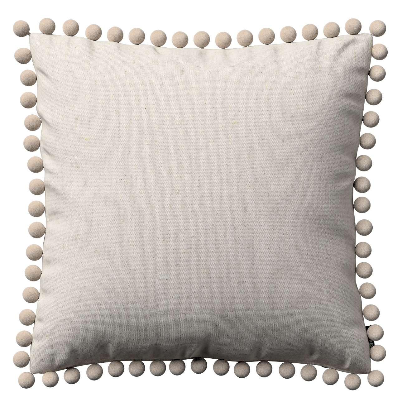 Wera dekoratyvinės pagalvėlės užvalkalas su žaismingais kraštais 45 x 45 cm kolekcijoje Loneta , audinys: 133-65
