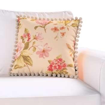 Wera dekoratyvinės pagalvėlės užvalkalas su žaismingais kraštais kolekcijoje Londres, audinys: 123-05