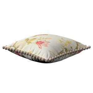 Wera dekoratyvinės pagalvėlės užvalkalas su žaismingais kraštais 45 x 45 cm kolekcijoje Londres, audinys: 123-65