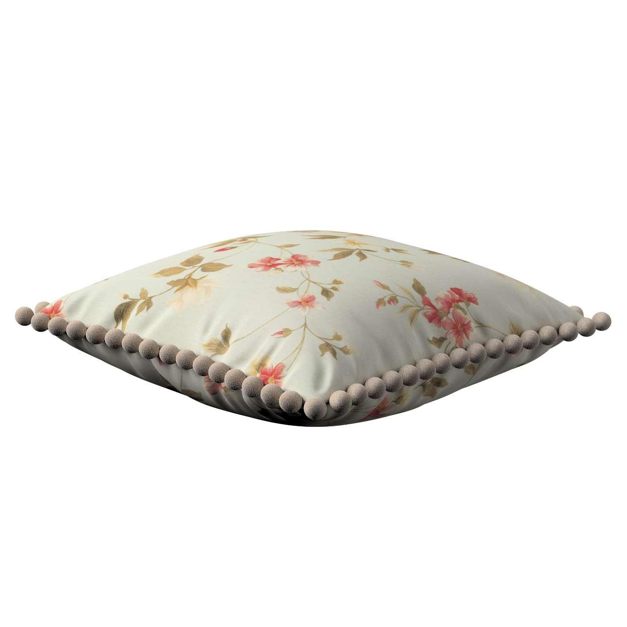 Wera dekoratyvinės pagalvėlės su žaismingais kraštais 45 x 45 cm kolekcijoje Londres, audinys: 124-65