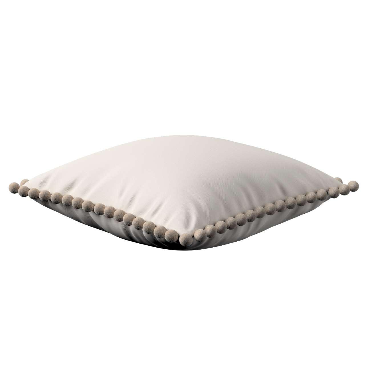 Wera dekoratyvinės pagalvėlės su žaismingais kraštais 45 x 45 cm kolekcijoje Etna , audinys: 705-01