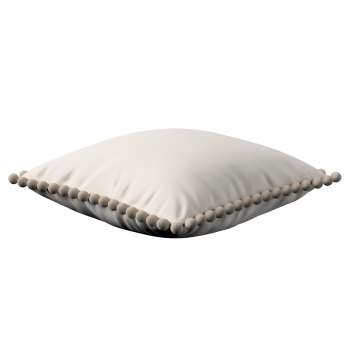 Wera dekoratyvinės pagalvėlės užvalkalas su žaismingais kraštais kolekcijoje Etna , audinys: 705-01