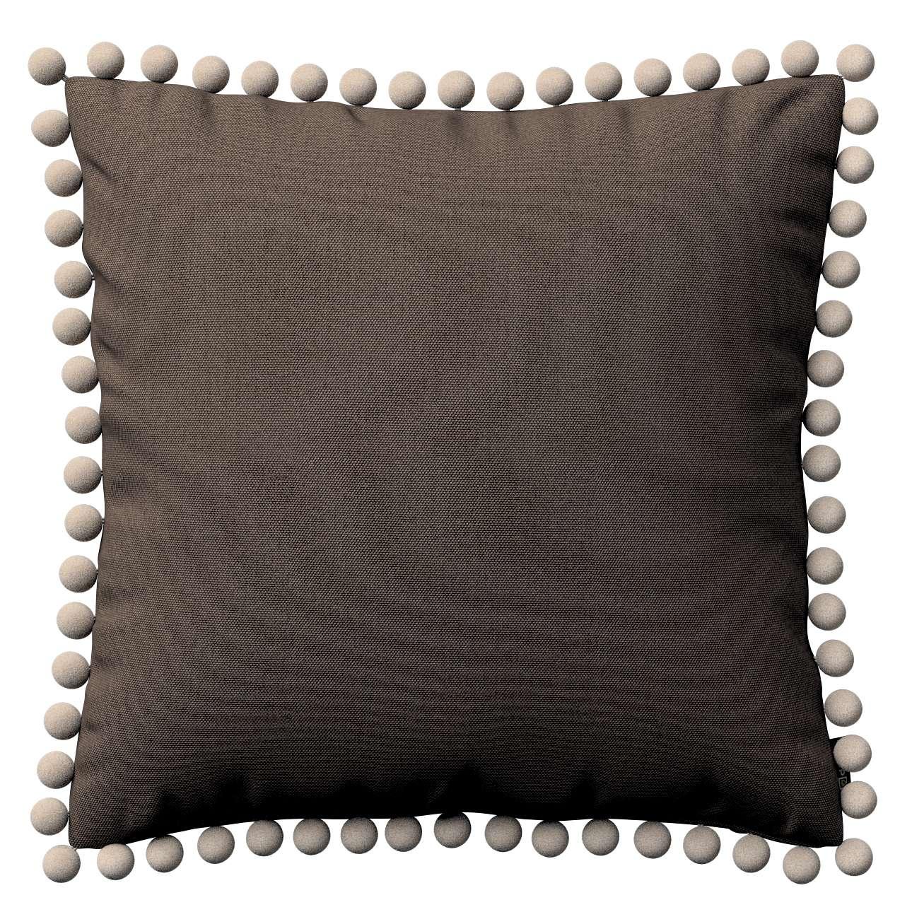 Wera dekoratyvinės pagalvėlės su žaismingais kraštais 45 x 45 cm kolekcijoje Etna , audinys: 705-08