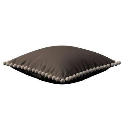 Poszewka Wera na poduszkę 705-08 brązowy Kolekcja Etna