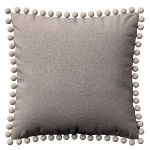 Wera dekoratyvinės pagalvėlės užvalkalas su žaismingais kraštais 45 x 45 cm kolekcijoje Etna , audinys: 705-09
