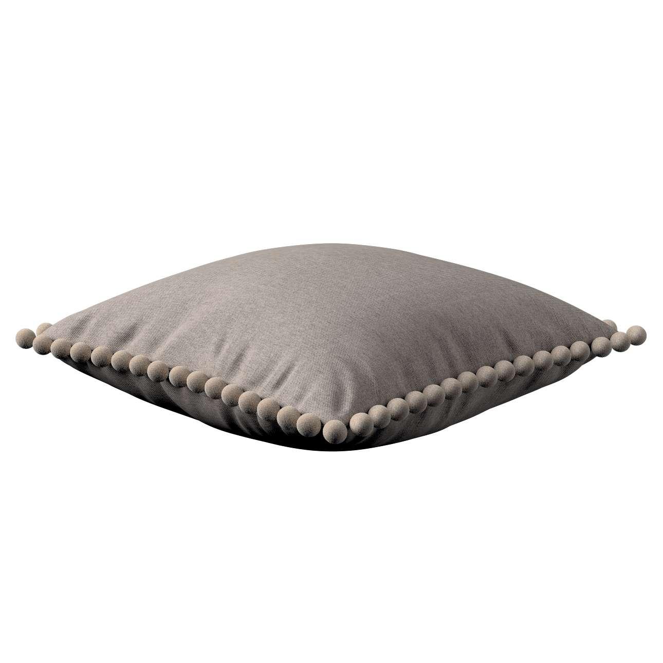 Wera dekoratyvinės pagalvėlės su žaismingais kraštais 45 x 45 cm kolekcijoje Etna , audinys: 705-09