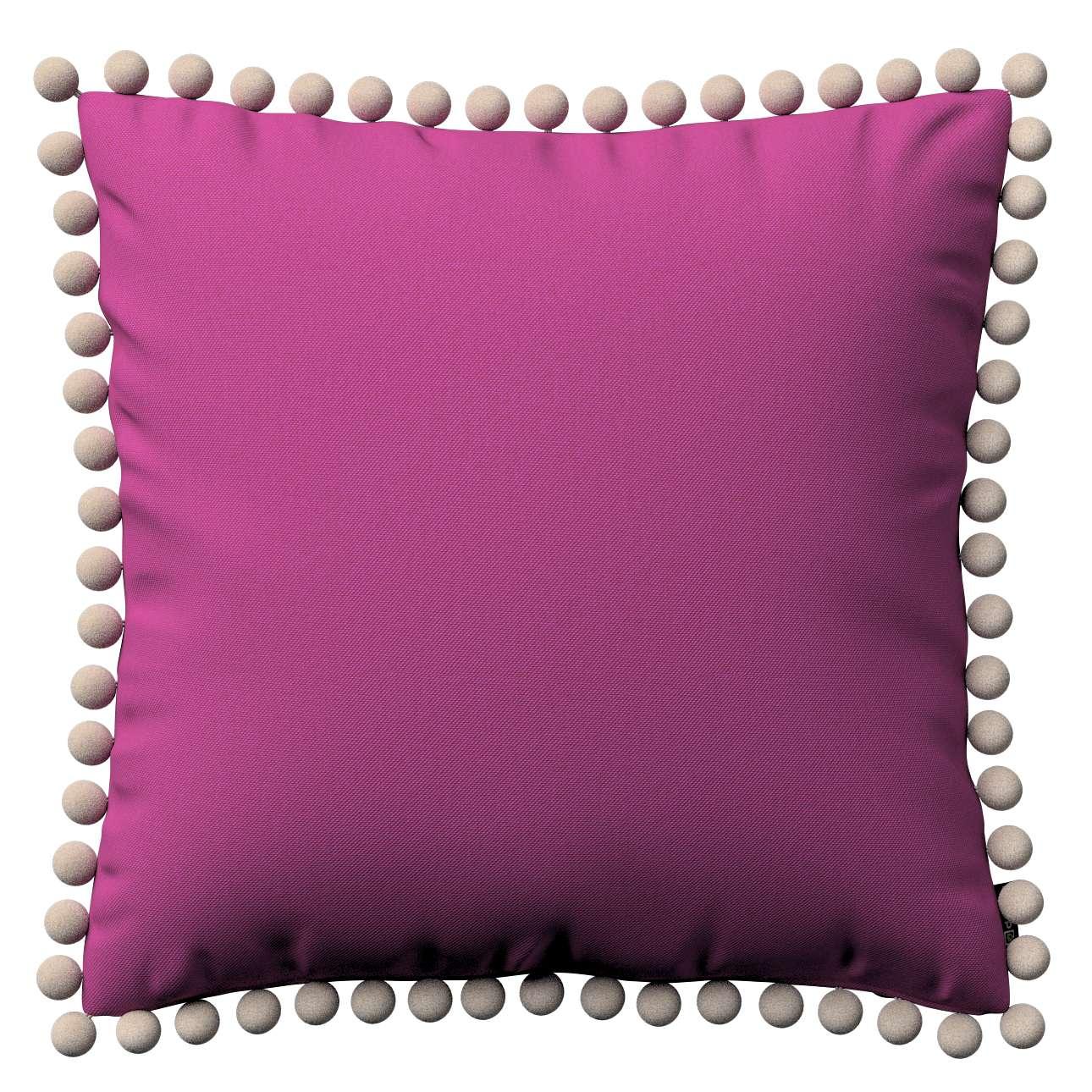 Wera dekoratyvinės pagalvėlės su žaismingais kraštais 45 x 45 cm kolekcijoje Etna , audinys: 705-23