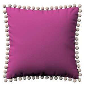 Wera dekoratyvinės pagalvėlės užvalkalas su žaismingais kraštais 45 x 45 cm kolekcijoje Etna , audinys: 705-23
