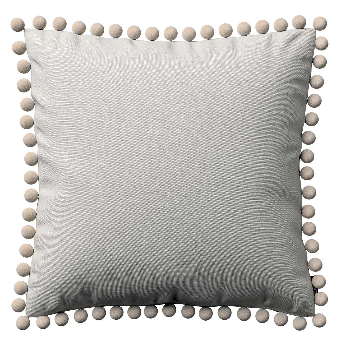 Wera dekoratyvinės pagalvėlės su žaismingais kraštais 45 x 45 cm kolekcijoje Etna , audinys: 705-90