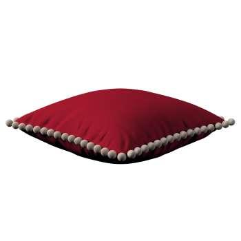 Wera dekoratyvinės pagalvėlės užvalkalas su žaismingais kraštais 45 x 45 cm kolekcijoje Etna , audinys: 705-60