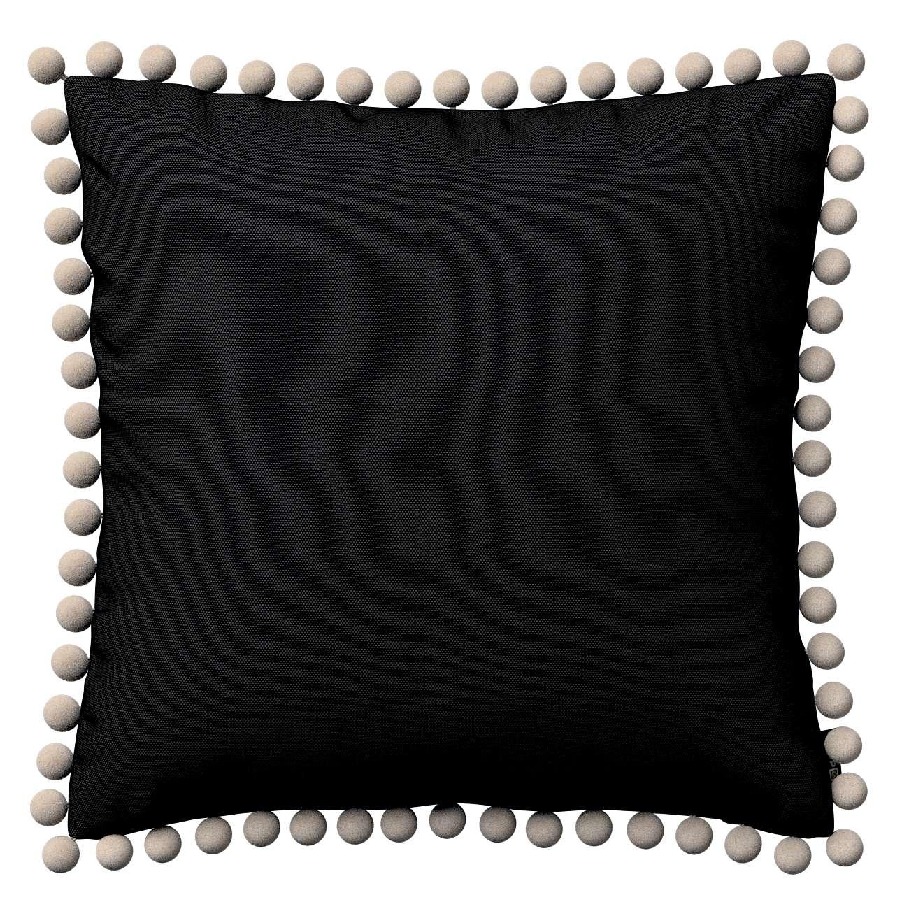 Wera dekoratyvinės pagalvėlės su žaismingais kraštais 45 x 45 cm kolekcijoje Etna , audinys: 705-00