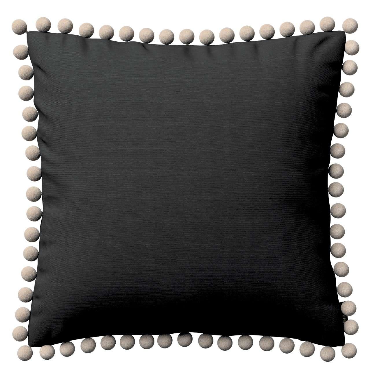 Wera dekoratyvinės pagalvėlės su žaismingais kraštais 45 x 45 cm kolekcijoje Jupiter, audinys: 127-99