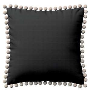 Wera dekoratyvinės pagalvėlės užvalkalas su žaismingais kraštais 45 x 45 cm kolekcijoje Jupiter, audinys: 127-99