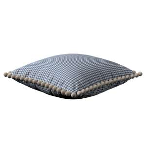 Wera dekoratyvinės pagalvėlės užvalkalas su žaismingais kraštais 45 x 45 cm kolekcijoje Quadro, audinys: 136-00