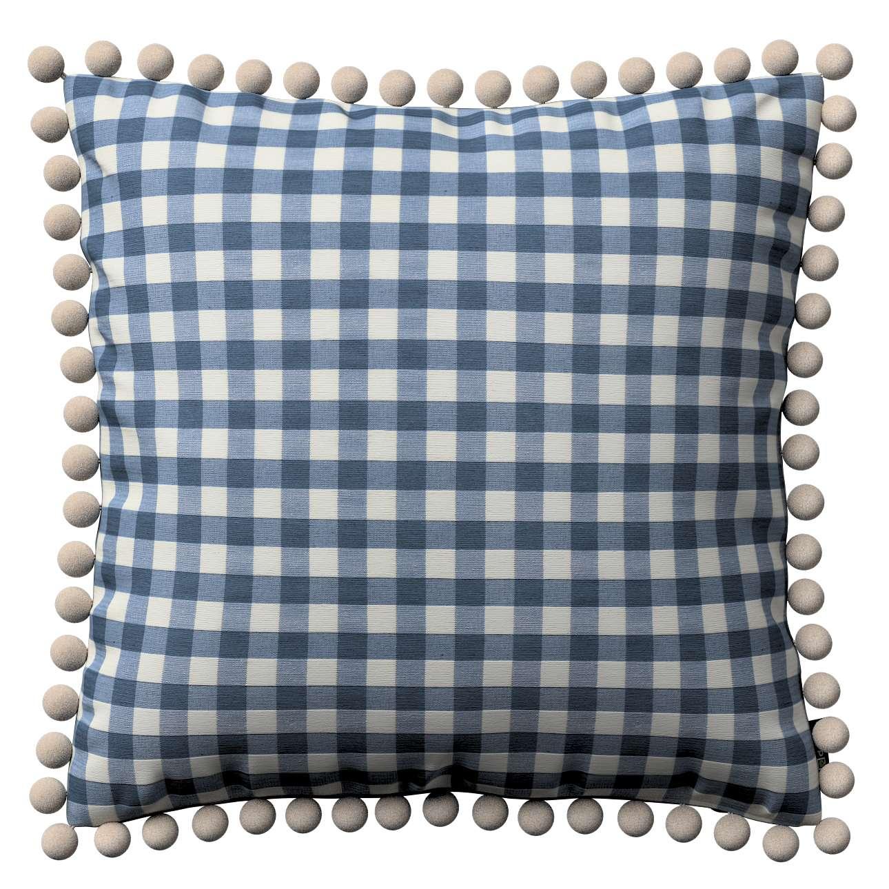 Poszewka Wera na poduszkę 45 x 45 cm w kolekcji Quadro, tkanina: 136-01