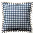 Wera dekoratyvinės pagalvėlės užvalkalas su žaismingais kraštais 45 x 45 cm kolekcijoje Quadro, audinys: 136-01
