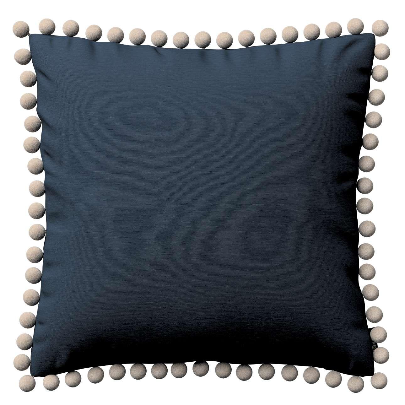 Wera dekoratyvinės pagalvėlės su žaismingais kraštais 45 x 45 cm kolekcijoje Quadro, audinys: 136-04