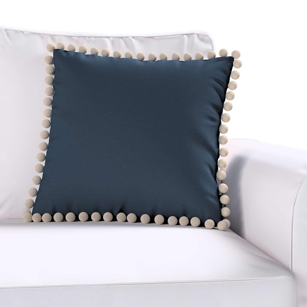 Wera dekoratyvinės pagalvėlės užvalkalas su žaismingais kraštais 45 × 45 cm kolekcijoje Quadro, audinys: 136-04