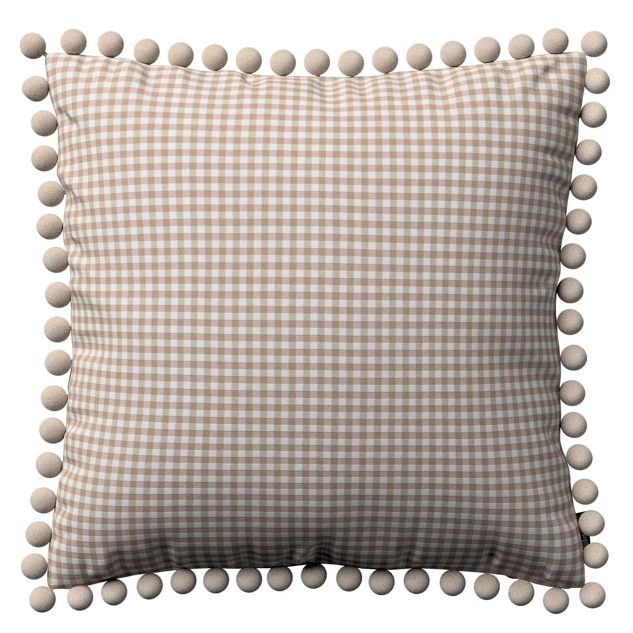 Viera s brmbolcami V kolekcii Quadro, tkanina: 136-05
