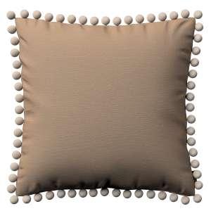 Wera dekoratyvinės pagalvėlės užvalkalas su žaismingais kraštais 45 x 45 cm kolekcijoje Quadro, audinys: 136-09