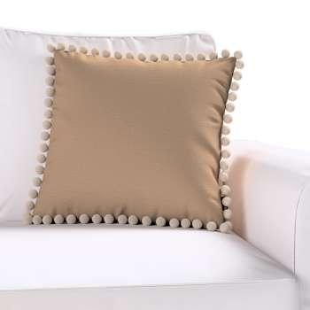 Wera dekoratyvinės pagalvėlės užvalkalas su žaismingais kraštais kolekcijoje Quadro, audinys: 136-09