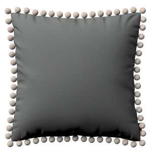 Wera dekoratyvinės pagalvėlės užvalkalas su žaismingais kraštais 45 x 45 cm kolekcijoje Quadro, audinys: 136-14
