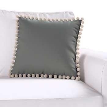Wera dekoratyvinės pagalvėlės užvalkalas su žaismingais kraštais 45 × 45 cm kolekcijoje Quadro, audinys: 136-14