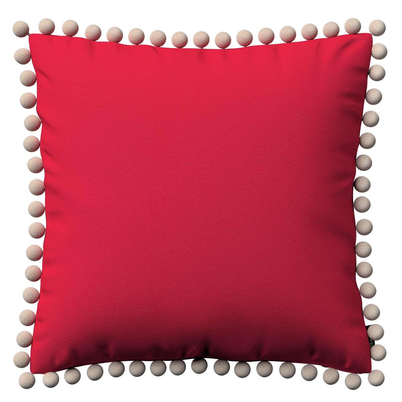 Viera s brmbolcami V kolekcii Quadro, tkanina: 136-19