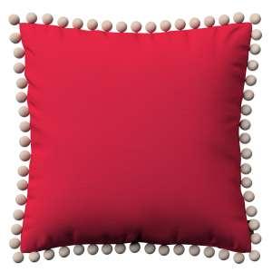 Wera dekoratyvinės pagalvėlės užvalkalas su žaismingais kraštais 45 x 45 cm kolekcijoje Quadro, audinys: 136-19