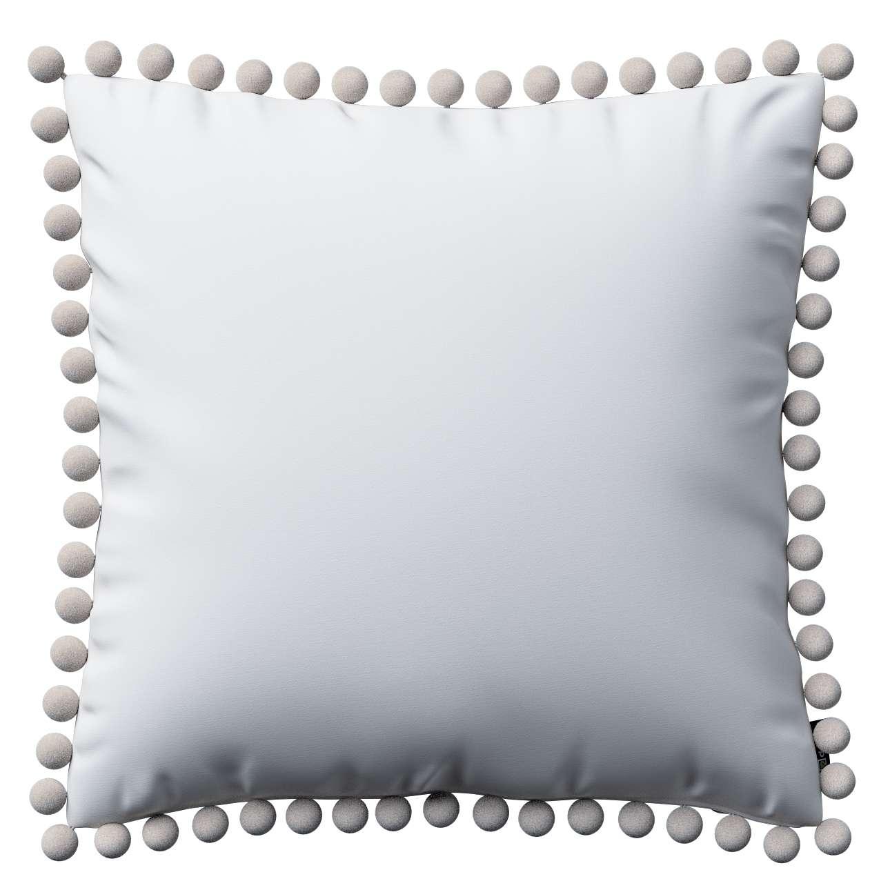 Wera dekoratyvinės pagalvėlės užvalkalas su žaismingais kraštais 45 x 45 cm kolekcijoje Comics Prints, audinys: 139-00
