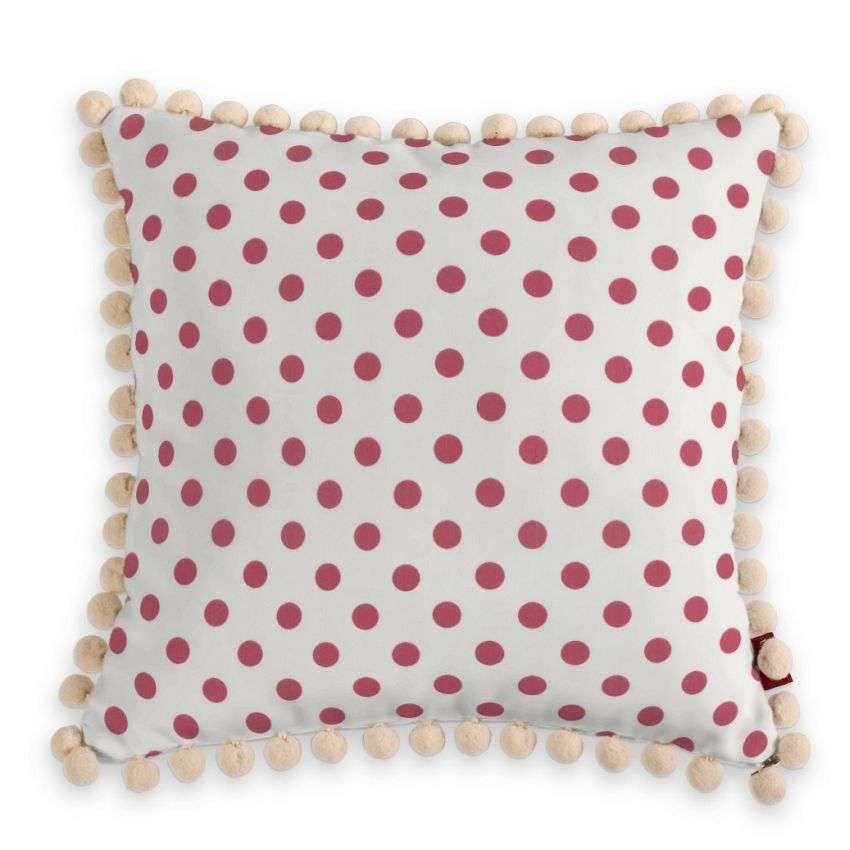 Wera dekoratyvinės pagalvėlės užvalkalas su žaismingais kraštais 45 × 45 cm kolekcijoje Ashley , audinys: 137-70