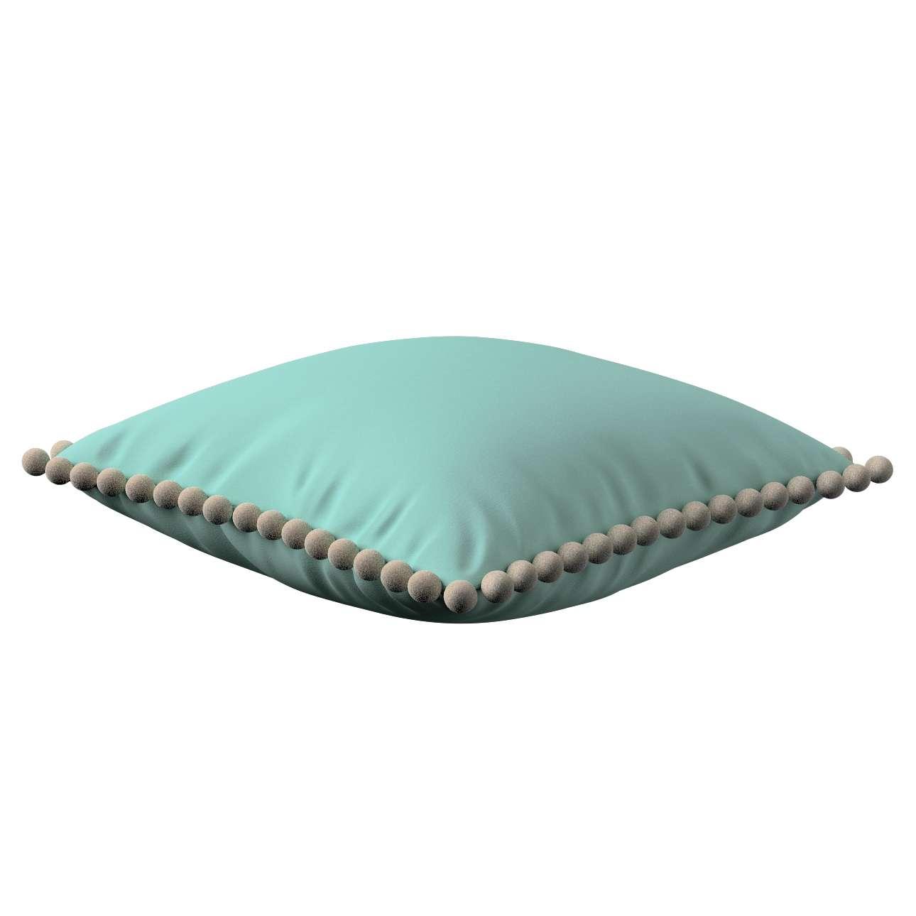 Wera dekoratyvinės pagalvėlės užvalkalas su žaismingais kraštais 45 x 45 cm kolekcijoje Loneta , audinys: 133-32