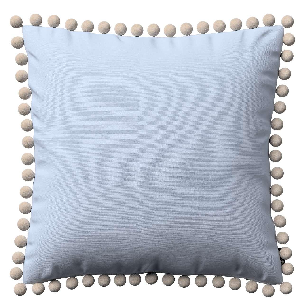Wera dekoratyvinės pagalvėlės su žaismingais kraštais 45 x 45 cm kolekcijoje Loneta , audinys: 133-35