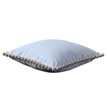 Wera dekoratyvinės pagalvėlės užvalkalas su žaismingais kraštais 45 x 45 cm kolekcijoje Loneta , audinys: 133-35