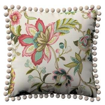 Wera dekoratyvinės pagalvėlės užvalkalas su žaismingais kraštais 45 x 45 cm kolekcijoje Londres, audinys: 122-00