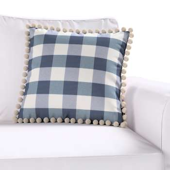 Poszewka Wera na poduszkę w kolekcji Quadro, tkanina: 136-03