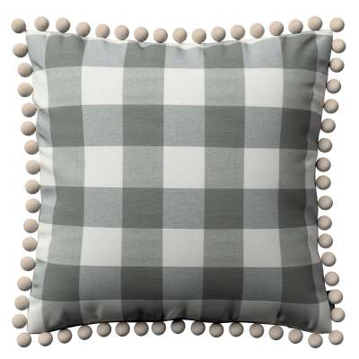 Viera s brmbolcami V kolekcii Quadro, tkanina: 136-13