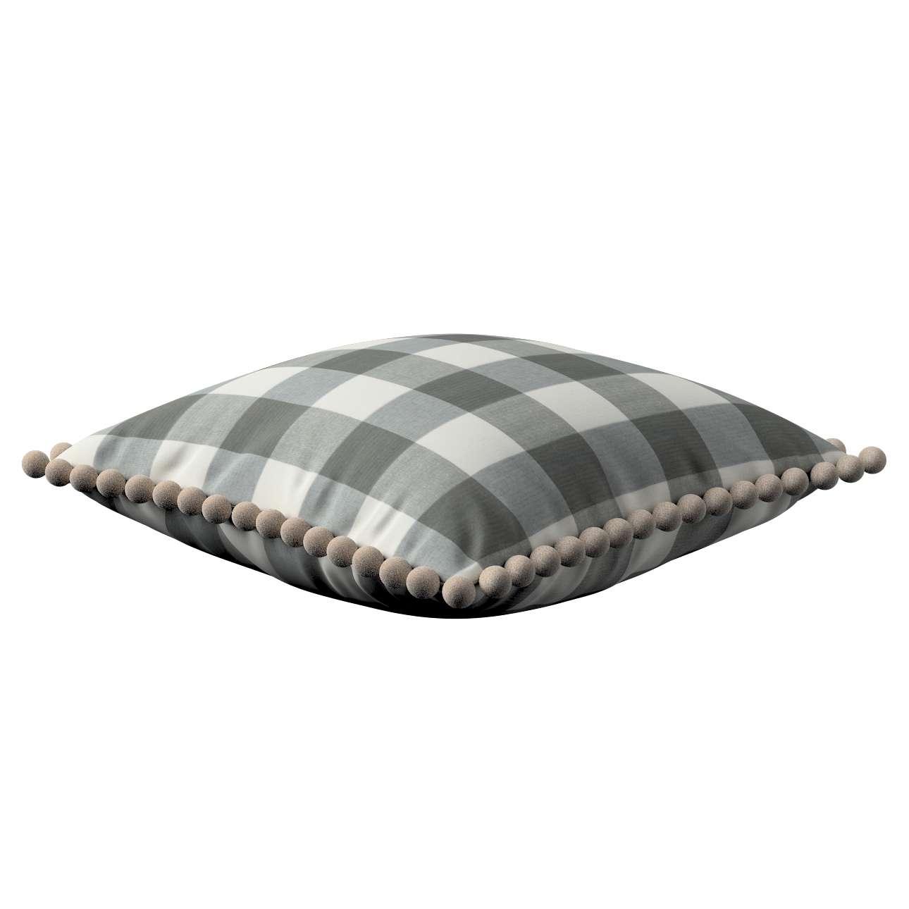 Poszewka Wera na poduszkę 45 x 45 cm w kolekcji Quadro, tkanina: 136-13