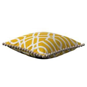 Wera dekoratyvinės pagalvėlės užvalkalas su žaismingais kraštais 45 x 45 cm kolekcijoje Comics Prints, audinys: 135-09
