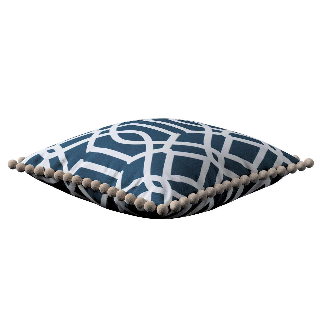Wera dekoratyvinės pagalvėlės užvalkalas su žaismingais kraštais 45 x 45 cm kolekcijoje Comics Prints, audinys: 135-10